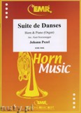 Okładka: Pezel Johann Christoph, Suite de Danses  - Horn