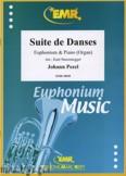 Okładka: Pezel Johann Christoph, Suite de Danses  - Euphonium