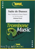 Ok�adka: Pezel Johann Christoph, Suite de Danses - Trombone