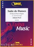 Okładka: Pezel Johann Christoph, Suite de Danses - Tuba