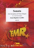 Ok�adka: Loeillet Jean-Baptiste, Sonate en Lab Majeur  - Saxophone