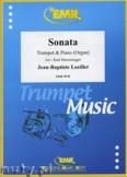 Okładka: Loeillet Jean-Baptiste, Sonate en Lab Majeur - Trumpet