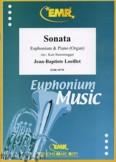 Okładka: Loeillet Jean-Baptiste, Sonate As-Dur  - Euphonium