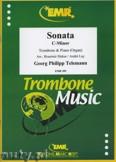 Ok�adka: Telemann Georg Philipp, Sonata c-moll - Trombone