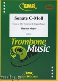 Okładka: Meyer Hannes, Sonate c-moll - Trombone