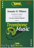 Okładka: Händel George Friedrich, Sonate g-moll  - Trombone