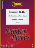 Okładka: Albinoni Tomaso, Konzert B-Dur - Saxophone