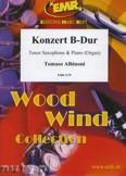 Ok�adka: Albinoni Tomaso, Konzert B-Dur - Saxophone