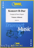 Ok�adka: Albinoni Tomaso, Konzert B-Dur - Trumpet