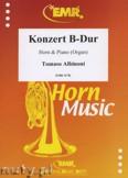 Okładka: Albinoni Tomaso, Konzert B-Dur - Horn