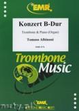 Okładka: Albinoni Tomaso, Konzert B-Dur - Trombone