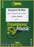 Ok�adka: Albinoni Tomaso, Konzert B-Dur - Trombone