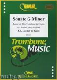 Ok�adka: Loeillet Jean-Baptiste, Sonate g-moll - Trombone