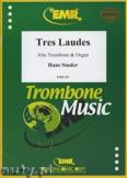 Okładka: Studer Hans, Tres Laudes - Trombone