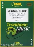 Okładka: Caldara Antonio, Sonata D-Dur  - Trombone