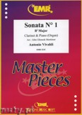 Ok�adka: Vivaldi Antonio, Sonata N� 1 in Bb major - CLARINET