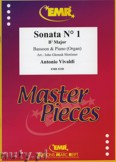 Ok�adka: Vivaldi Antonio, Sonata N� 1 in Bb major - BASSOON