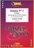 Ok�adka: Vivaldi Antonio, Sonata N� 1 in Bb major - Saxophone