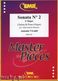 Ok�adka: Vivaldi Antonio, Sonata N� 2 in F major - CLARINET