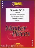 Ok�adka: Vivaldi Antonio, Sonata N� 2 in F major - BASSOON