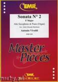 Ok�adka: Vivaldi Antonio, Sonata N� 2 in F major - Saxophone