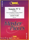 Ok�adka: Vivaldi Antonio, Sonata N� 2 in F major - Saxophone