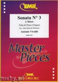 Ok�adka: Vivaldi Antonio, Sonata N� 3 in A minor - Tuba