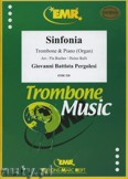 Ok�adka: Pergolesi Giovanni Battista, Sinfonia F-Dur  - Trombone