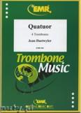 Okładka: Daetwyler Jean, Quatuor - Trombone