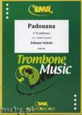 Okładka: Schein Johann H., Padouana - Trombone