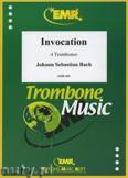 Okładka: Bach Johann Sebastian, Invocation - Trombone
