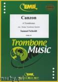 Okładka: Scheidt Samuel, Canzon - Trombone