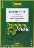 Okładka: Bach Johann Sebastian, Kantate N° 78 - Trombone