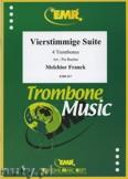Okładka: Franck Melchior, 4-stimmige Suite  - Trombone