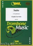 Okładka: Gervaise Claude, Suite - Trombone