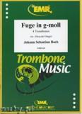 Ok�adka: Bach Johann Sebastian, Fuge in g-moll - Trombone