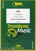 Ok�adka: Bach Johann Sebastian, Air aus der Orchestersuite - Trombone