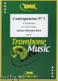 Ok�adka: Bach Johann Sebastian, Contrapunctus N� 3 - Trombone