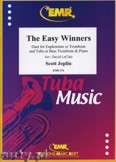Okładka: Joplin Scott, The Easy Winners for Euphonium or Trombone and Tuba or Bass Trombone and Piano