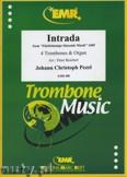 Okładka: Pezel Johann Christoph, Intrada  - Trombone