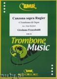 Ok�adka: Frescobaldi Girolamo, Canzona Sopra Rugier - Trombone