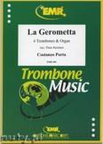 Ok�adka: Porta Costanzo, La Gerometta  - Trombone