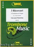 Ok�adka: Palestrina Giovanni Pierluigi Da, 3 Ricercari - Trombone