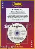 Ok�adka: Armitage Dennis, Solo Album Vol. 02 + CD  - Saxophone