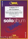 Ok�adka: Armitage Dennis, Solo Album Vol. 05  - Saxophone