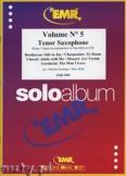 Okładka: Armitage Dennis, Solo Album Vol. 05  - Saxophone