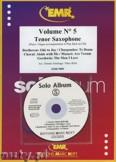 Ok�adka: Armitage Dennis, Solo Album Vol. 05 + CD  - Saxophone
