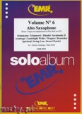 Okładka: Armitage Dennis, Solo Album Vol. 06  - Saxophone