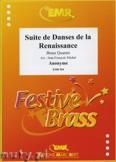 Ok�adka: Anonim, Suite de Danses de la Renaissance - BRASS ENSAMBLE