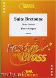 Okładka: Guigou Pierre, Suite Bretonne - BRASS ENSAMBLE